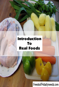 introduction to real foods