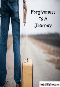 forgiveness is a journey