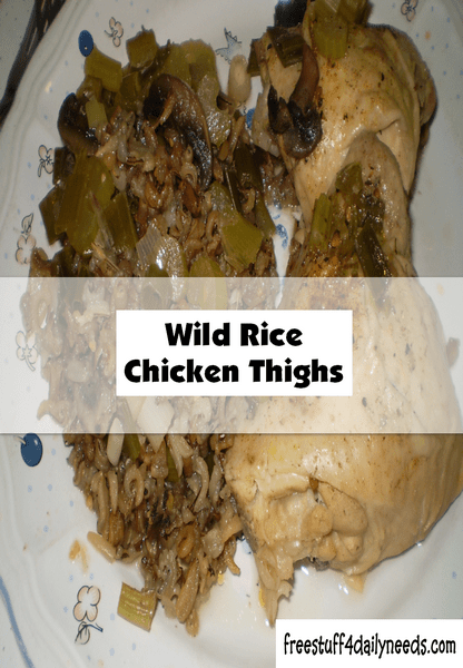 wild rice chicken thighs
