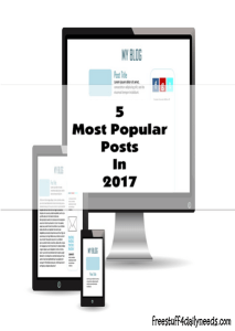 5 most popular posts in 2017
