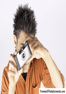 taking photos with camera