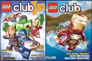 Free Lego Club or Lego Club Jr. Magazine ~ Canada