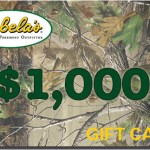 Win a $1,000.00 Cabela's Gift Card!