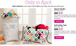 Thirty-One Canada Deal of The Month For April 2017