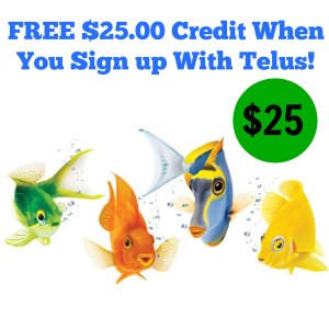 Sign up With Telus And Get $25.00 Off Your First Bill!