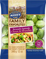 Mann's Family Favorites	Brussels Sprouts