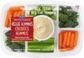 Mann's Snacking Favorites - Veggie Hummus Tray