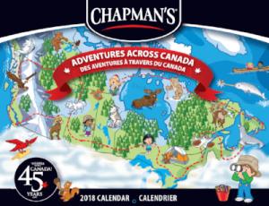 FREE 2018 Chapman's Ice Cream Calendar!