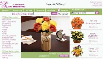 Sponsored: FTD.com Send Fresh Flowers Save 10% Coupon Link - US