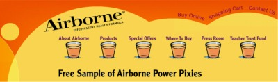 Airborne Effervescent Health Formula Free Sample of Power Pixies - US