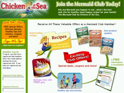 Chicken of the Sea Mermaid Club Special Deals, Coupons and More