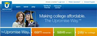 Upromise Savings for Collete Free $3 Bonus Credit for New Members - Exp Dec 31, 07, US