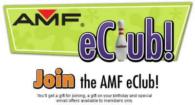 AMF Bowling eClub Free Gift and Special Email Offers - Select US States