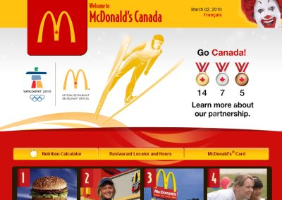 McDonald's Canada Free Coffee All Day from March 1 to 14, 2010 - Canada