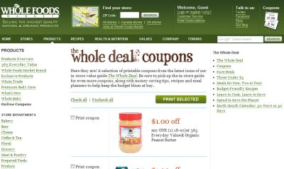 image relating to Whole Foods Printable Coupon named Full Foodstuff Marketplace Cost-free Printable Discount codes