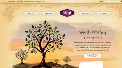 Yogi Send a Well Wish and a Free Tea Sample to a Friend