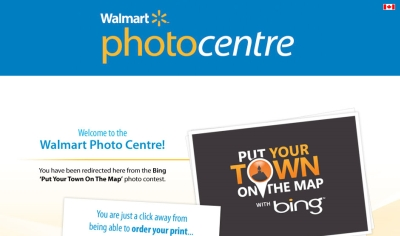 Microsoft Bing 50 Free Photo Prints from Walmart PhotoCentre - Canada