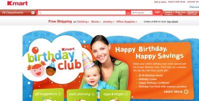 Kmart Birthday Club Free $5 in Birthday Bucks for Kids, Birthday Crown, Certificate and Goodies - US