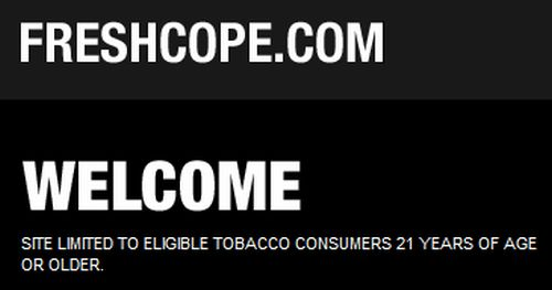 FRESHCOPE.COM Free Personalized Flask from Copenhagen - Ages 21+, Tobacco Consumers, US