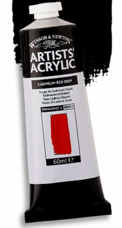 Winsor and Newton Artists' Acrylic Free Paint Sample