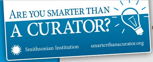 Smithsonian Institution Free Are You Smarter than a Curator Sticker - US
