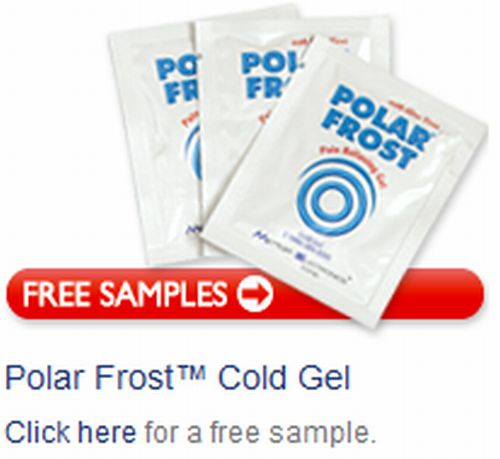 Polar Frost Cold Gel Pain Relief Free Sample - US