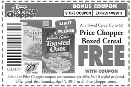 photograph about Price Chopper Printable Coupons identified as Selling price Chopper Printable Coupon for a No cost Box of Charge
