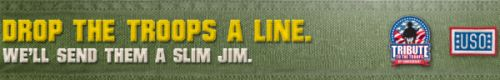 Slim Jim Help Deploy 1,000,000 Slim Jims to the Troops