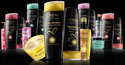 L'Oreal Paris Advanced Haircare Free Sample of Total Repair Shampoo, Conditioner and Treatment