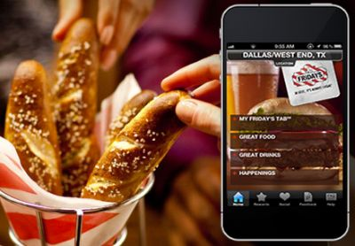 T.G.I. Fridays Free Appetizer for Downloading a Mobile App