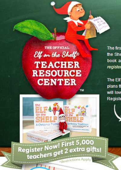 Elf on the Shelf Free Classroom Kit for Teachers with Storybook and Scout Elf