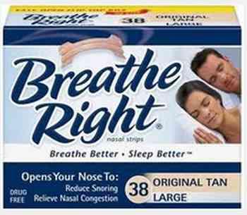 Breathe Right Nasal Strip Free Sample - US