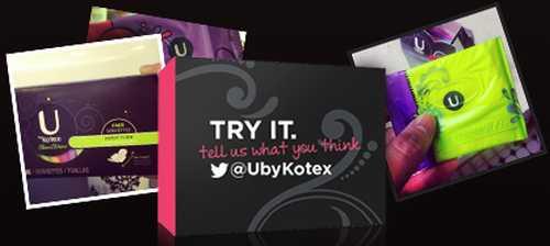 Kotex Tampon UbyKotex Free Sample - US (Printable Coupon for Canada)