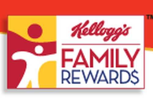 Kellogg's Family Rewards Free 100 Points - US