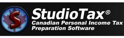 StudioTax 2013 Canadian Personal Income Tax Preparation Software Free Certified Version - Canada