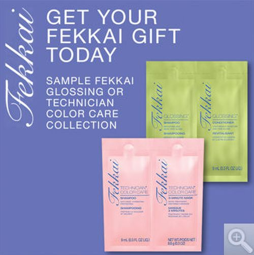 Costco Free Sample of Fekkai Glossing or Technician Color Care Collection - US