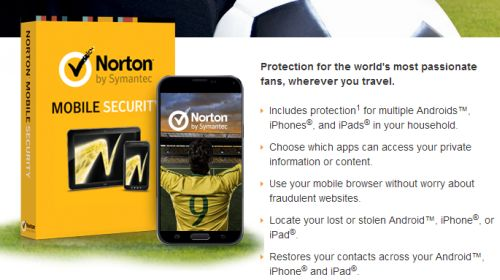 Norton by Symantec Free Norton Mobile Security for 1 Year to Protect Androids, iPhones and iPads - Exp. August 31, 2014