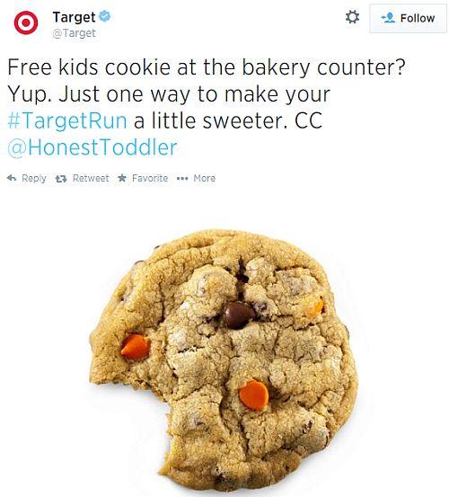 Target Bakery Free Kids Cookies