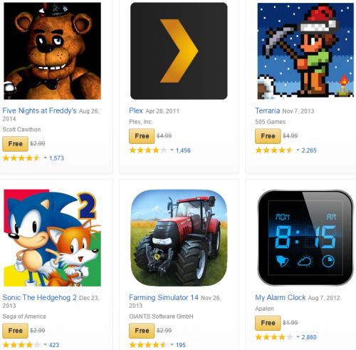 Amazon App Store $220 Worth of Apps Free on Christmas Eve and Day for Android Devices