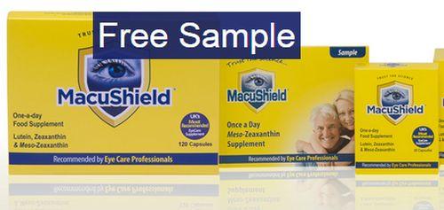 MacuShield Food Supplement Free Sample