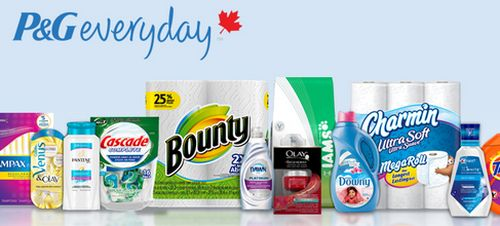 P&G Everyday Free Exclusive Coupons and Savings - Canada