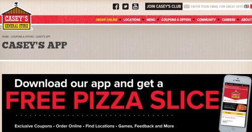 photograph regarding Casey's Coupons Printable named Printable caseys pizza discount codes : Coupon films