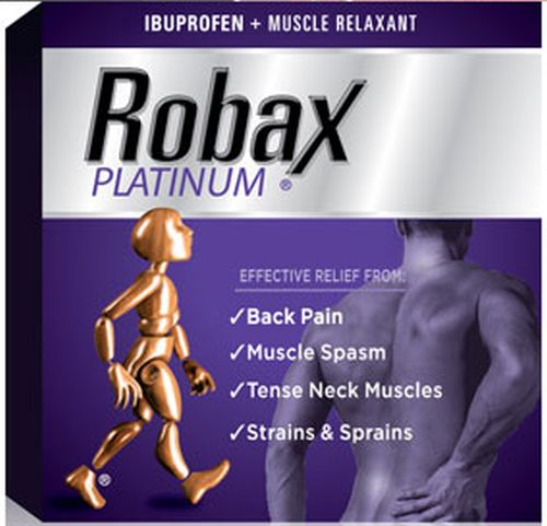 Robax Platinum Pain Reliever - Ages 18+, Canada