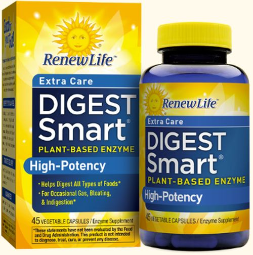 Renew Life Formulas Renew Life Digest Smart Enzyme