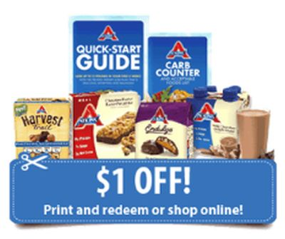 Atkins Quick Start Kit with Coupons