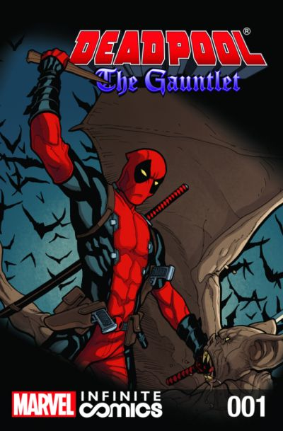 Comixology Deadpool: The Gauntlet Infinite Comic #1