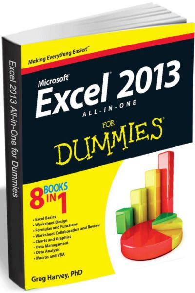 Excel 2013 All-in-One for Dummies eBook