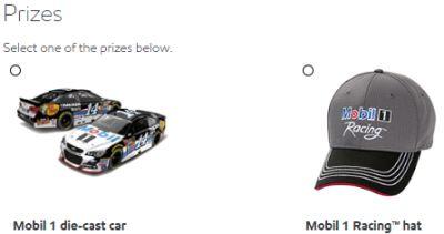 Mobil 1 Die-cast Car or Hat