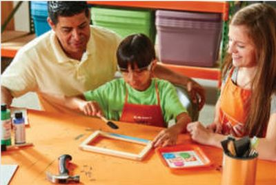 The Home Depot Back to School Whiteboard Workshop