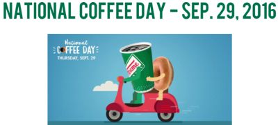 Krispy Kreme Doughnuts National Coffee Day